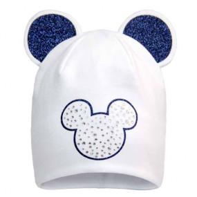 Демисезонная шапочка 20147 Minnie (премиум), молоко