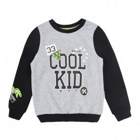 Реглан КФ-545 COOL KID, двунитка (меланж)