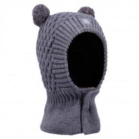 Первый шлем 3-004806 grey зимний НА ЛИПУЧКЕ (Польша)