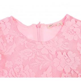 Платье 910556 Breeze гипюр-пенье (роза)