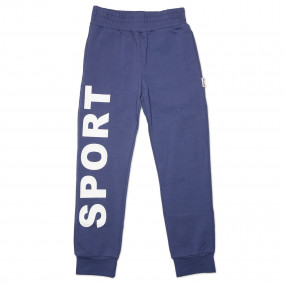 """Штаны ШТ-210 """"SPORT"""" светятся в темноте, двухнитка (под синий джинс)"""