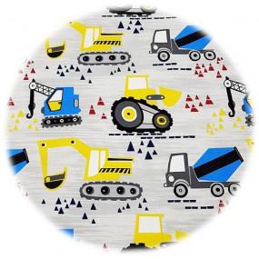 Пелёнка Tractor непромокаемая сатин/экомахра (50 на 70 см)