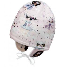 Деми шапка 20246 (премиум) завязки, эльфы