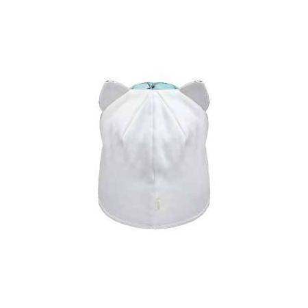Деми шапка 20211 (премиум), коты ментол/ушки