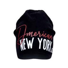Деми шапка 20239 чёрный (премиум) двойная