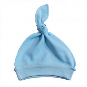 Шапочка 1631 голубой (100% хлопок)