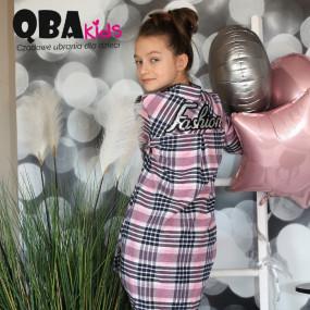 Рубашка-платье QBA Kids дизайнерское (Польша) пайетки на спине
