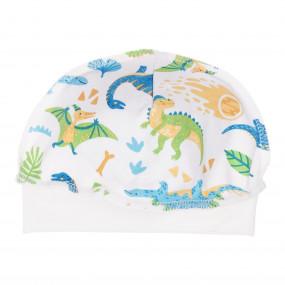 Шапочка Динозавры в роддом (100% хлопок)