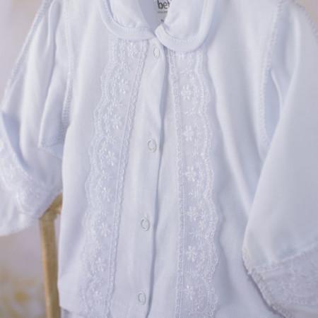 Костюм СОНЕЧКО белый (велюр)