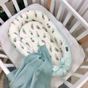 Кокон Baby Design - Перо мята