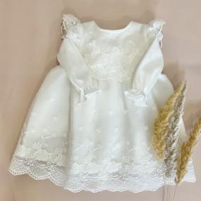 """Платье """"Vivien"""" дизайнерское со штанишками (интерлок/блюмарин)"""