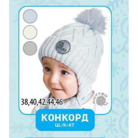 Шапка Конкорд (молоко) зима