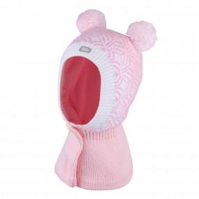 Шлем 3-005218 pink зимний НА ЛИПУЧКЕ (Польша)