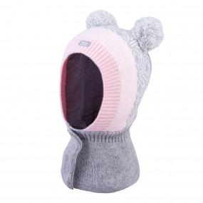Шлем 3-005218 grey зимний НА ЛИПУЧКЕ (Польша)
