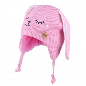 Шапочка 3-005124 pink зимняя 100% меринос (Польша)