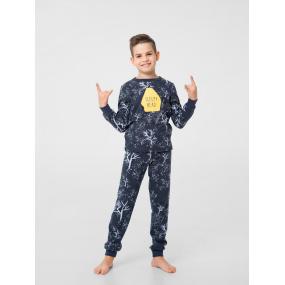 "Пижама ""Тедди-2"" графит (интерлок-софт)"