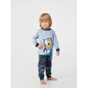 "Пижама ""Тедди"" серый/графит (интерлок-софт)"