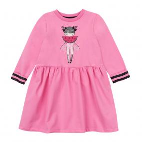 """Платье ПЛ-79 """"Арбузик"""" (двунитка), розовый"""