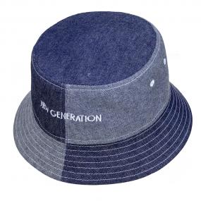 Шляпа-панама 2148 плотная (деним) 100% хлопок