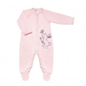 Комбинезон 108576 розовый (ажурный хлопок)