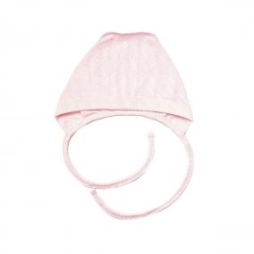 Чепчик 118614 розовый (ажурный хлопок)