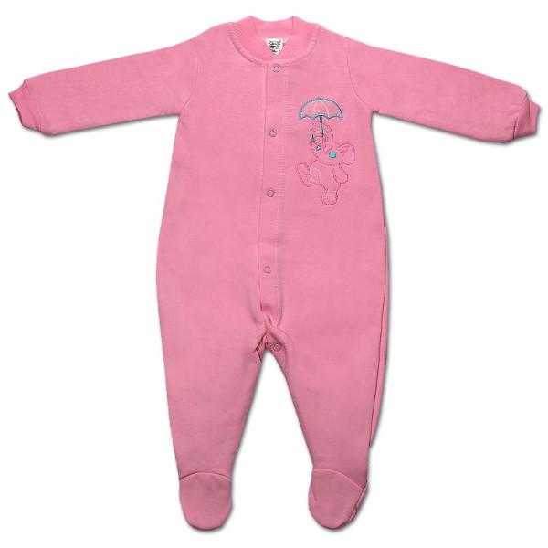 Кобинезон интерлок (КБ77), розовый