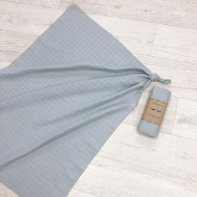 Пеленка серый муслин, 100х75 см