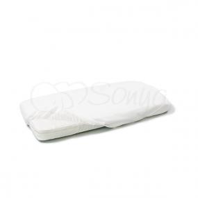 Наматрасник на резинке белый (стандарт) 60х120см
