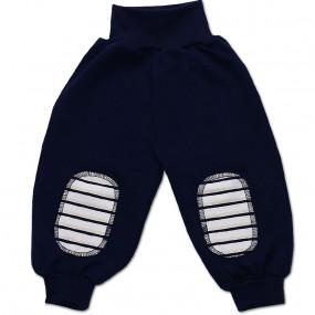 Штаны для мальчика ПОЛО интерлок (Польша), синий
