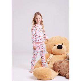 Пижама Флора (100% хлопок) для девочек