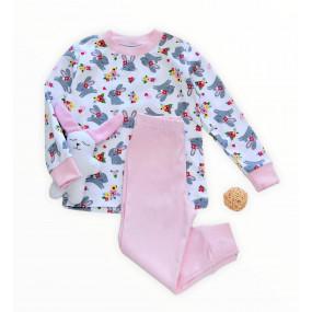 """Пижама """"Zoo"""" розовый, интерлок"""