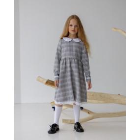Платье 81011 гусиная лапка ШКОЛА