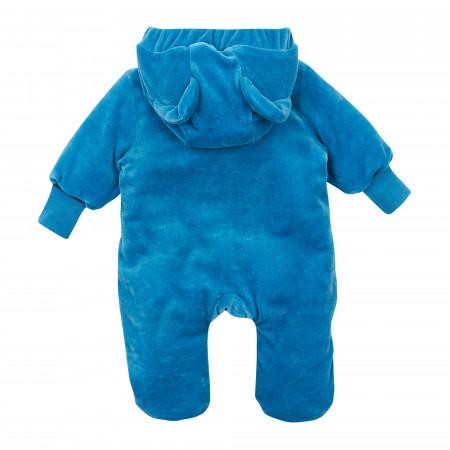 Комбинезон 8ВЛ061 синий велюр (синтепон)