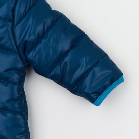 Комбинезон 8ПЛ066 синий (демисезонный) закрытая ножка