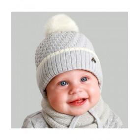 Шапка Ален (серый) зима