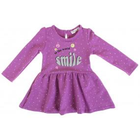 Платье 944230 сирень (двухнитка-стрейч)