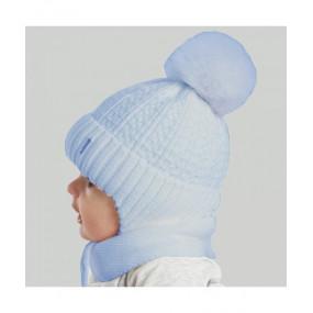 Шапка Люк (голубой) зима