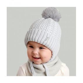 Шапка Люк (серый) зима