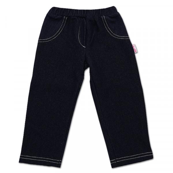 Брюки для девочки с имитацией джинса, стрейч-коттон (ТМ Bamar