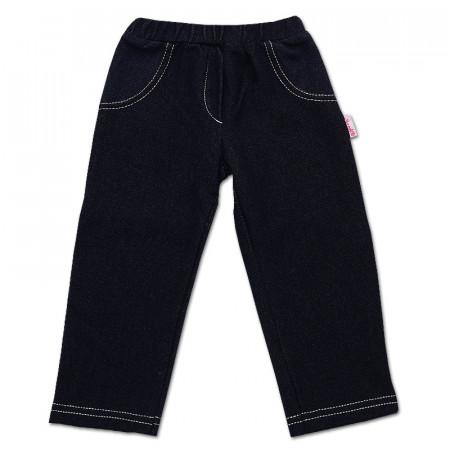 Брюки для девочки с имитацией джинса, стрейч-коттон (ТМ Bamar Nicol)