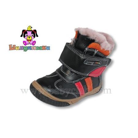 Зимняя обувь для мальчика, тёмно-синий, ТМ Шалунишка