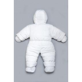 Детский зимний комбинезон белый